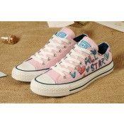 Converse All Star Chaussures Des Femme Basse Rose online aheter pas cher