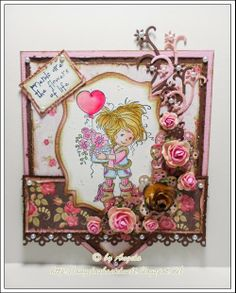 Pennant with Image from Whimsy Stamps
