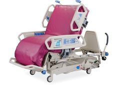 Hill-Rom TotalCare SpO2RT ICU Bed - Complications related to immobility and long term ventilation - such as pulmonary secretions which can lead to nosocomial pneumonia and neuro-muscular dysfunction - are among the most commonly acquired adverse events in critical care. Complexity and cost of care in affected patients increases significantly. KTCG ICUREHAB MOBILITY TRANSPORT