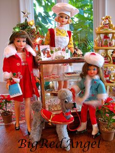 Barbie Christmas Card 2012 from the past Barbie Dog, Play Barbie, Barbie Skipper, Barbie Dream, Vintage Barbie Dolls, Barbie And Ken, Barbie Kids, Barbie House, Christmas Barbie