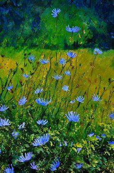 Wildflowers 911 - by artist Pol Ledent