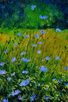 Wildflowers 911 - by artist Pol Ledent