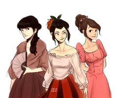 Fire dames