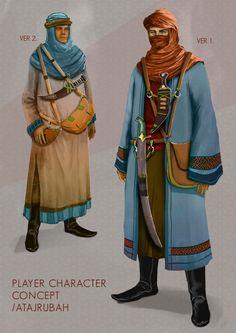 Pre-Alpha Release Date , Change-Log and Concept Art news Character Concept, Character Art, Concept Art, Dnd Characters, Fantasy Characters, Larp, Arabian Art, Armadura Medieval, Fantasy Rpg