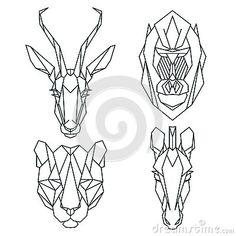 linework animals - Поиск в Google