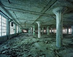Fisher Body 21 Plant  The Ruins of Detroit, Fisher Body 21 Plant, David Broderick Tower, 2010 ©Yves Marchand, Romain Meffre