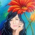 Celebrate Painting by Karen Dukes