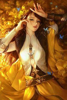 New Anime Art Manga Fantasy Ideas Fantasy Girl, Chica Fantasy, 3d Fantasy, Fantasy Women, Fantasy Artwork, Fantasy Paintings, Fantasy Warrior, Fantasy Books, Fantasy Inspiration