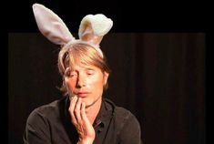 Spoilers: Hannibal is actually the Easter Bunny.  via Brain Fuller's twitter.