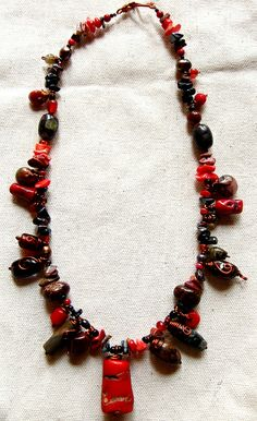 Cherry Charm Necklace by Kaingud Arts and Crafts