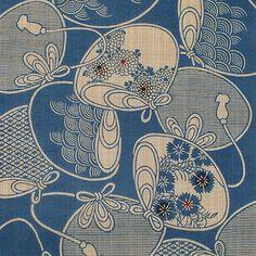 kimono fabric pattern