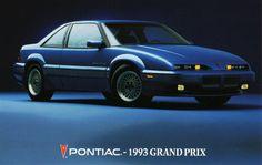 1993 Pontiac Grand Prix SE Coupe