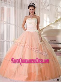 Recommended Tulle Taffeta Orange Red Quinceanera Gowns under 200 - $198.69