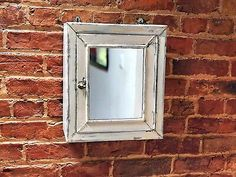 Find many great new & used options and get the best deals for Characterful Vintage Original 1930s Metal Medicine Cabinet at the best online prices at eBay! Free delivery for many products! Metal Cabinet, Home Medicine, Mirror With Lights, Beveled Mirror, Vintage Dressing Tables, Metal, Old Medicine Cabinets, Industrial Mirrors, Vintage