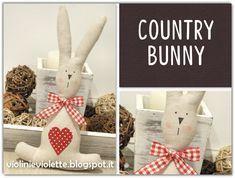 VIOLINI E VIOLETTE: country bunny