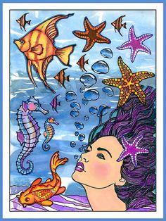 anjas-artefaktotum: using Designs by Ryn: Sea Creatures stamps