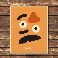 Toy Story Mr Potato Head 8x10 Print by Posterinspired on Etsy, $8.00