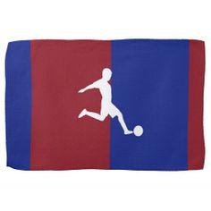 Soccer Kitchen Towels  #Soccer #Sports #Kitchen #Towel