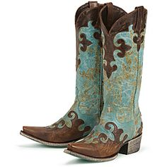 @Overstock - Exquisite stitching highlight these soft distressed leather boots by Lane Boots. With turquoise panels and a unique snip toe, these hand-crafted western boots are finished with turquoise leather soles.http://www.overstock.com/Clothing-Shoes/Lane-Boots-Womens-Dawson-Cowboy-Boots/6430545/product.html?CID=214117 $350.00