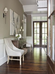 Gorgeous entry (Linda McDougald Design)