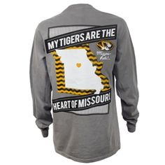 My Tigers are the Heart of Missouri.