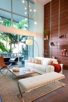 DKOR Interiors - Interior Designers Miami - Modern - South Beach Chic - modern - living room - miami - DKOR Interiors Inc.- Interior Designe...