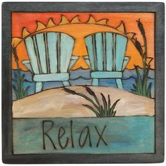 Scatter cheer about your home with Sticks plaques – All handcrafted and made with love in Des Moines, Iowa Types Of Painting, Painting On Wood, Painted Boards, Painted Rocks, Peace Pole, Garden Poles, Island Theme, Arte Country, Wood Burning Crafts