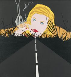 Smoke Dream #2 | Allan D'Arcangelo | 1963
