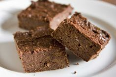 Sweet Potato Brownies (with stevia)