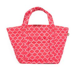 Spring Break Lovin' | Quilted Koala Happy Brights Small Tote Corel