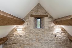 barn conversion filled with light | Corn Barn Gloucestershire | conversion and restoration MS Building