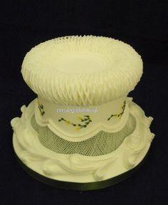 traditional royal iced cake