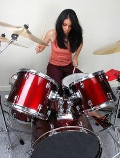 Do you think it is weird that girls play drums?
