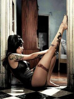 the placement of the leg tattoo is where I'm getting my next one
