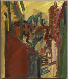 Frank Auerbach, 'The Tree Opposite,' 2008,