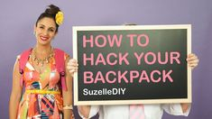 Our homegrown comic genius, Suzelle, has done it again. Her new back to school video, 'How to Hack your Backpack' is an absolute treat. Backpack Hacks, Diy Backpack, Hacks Videos, Diy Videos, Old Jeans Recycle, Girls Lunch Boxes, Suit Card, Girl Tips, Dinners For Kids