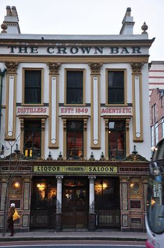 The Crown Bar, Belfast. A must do when in Belfast. This pub in incredibly beautiful and has so much history, dating back to 1849!  by agustinchito, via Flickr