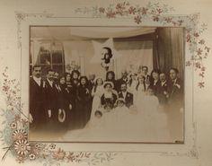#Family wedding photo, Chile, 1911