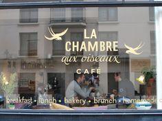 La Chambre aux oiseaux. Paris 10eme.