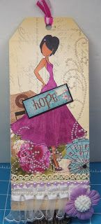 Creating From My Heart: Mixed Media Doll Stamp Tag