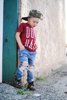 Kids Distressed Skinny Jeans by FarmFreshDenim on Etsy