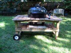 Grill/smoker cart gril. homemade job