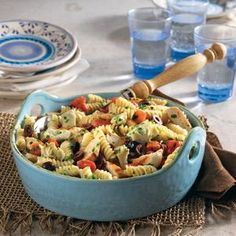 Easy Mediterranean Pasta Salad | MyRecipes.com