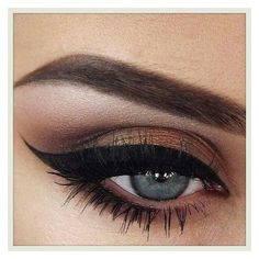 Cat eyeliner ❤ liked on Polyvore featuring beauty products, makeup, eye makeup, eyeliner, eyes and eyeshadow
