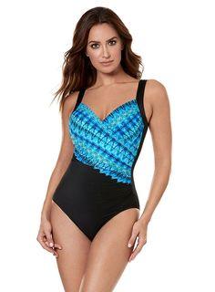 ffa4a1f06cd7b Blue Miraclesuit Swimwear, Lycra Spandex, Beautiful Curves, Cabana, 10  Seconds, 10