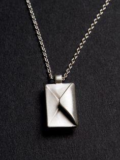 Envelope necklace!