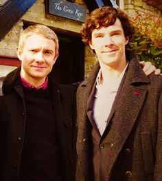 John Watson and Sherlock Holmes. Oh goodness, I CANNOT get enough of them!!