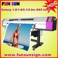 wide format digital eco solvent printing for vinyl ,banner,one way vision etc