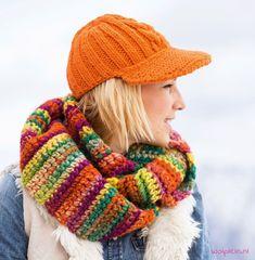 Lana-Grossa-colormix-colsjaal-haakpatroon
