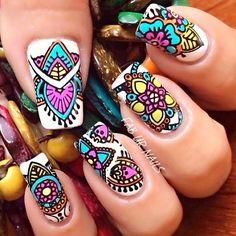 Uñas Wow Hair Products, Finger Nails, Nail Stamping, Pedi, Hair And Nails, Cool Hairstyles, Girly, Nail Art, Turquoise
